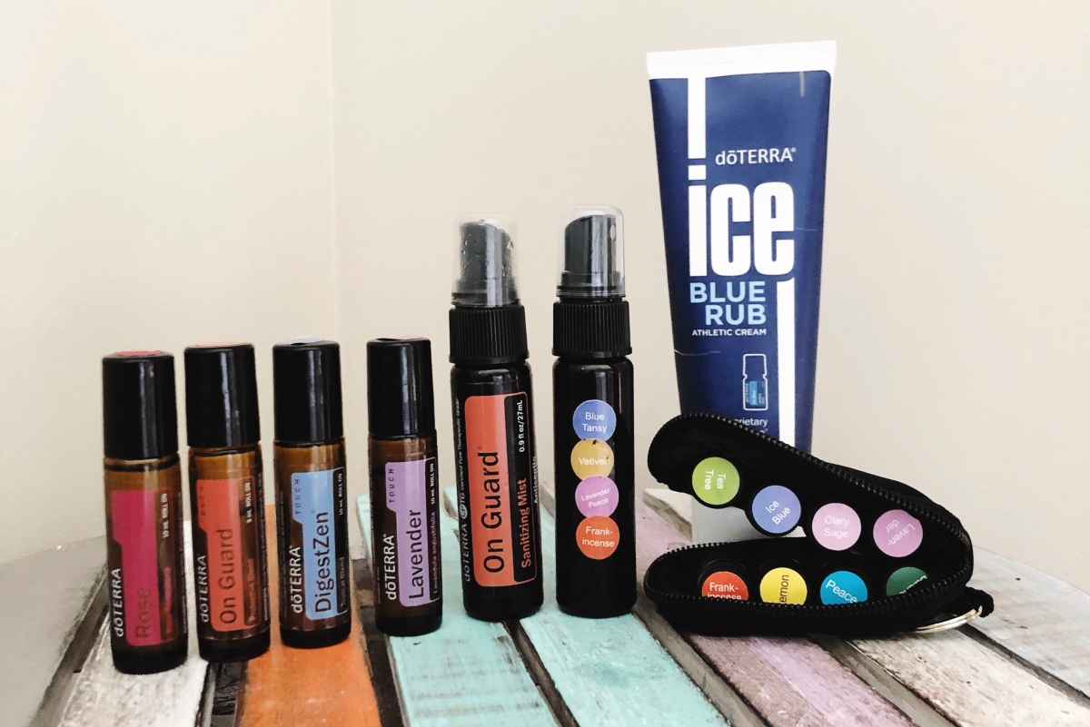 Essential Oils that saved my bacon travelling with atoddler